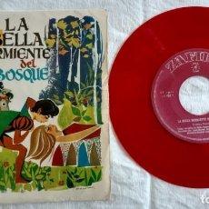 Discos de vinilo: DISCO-LA BELLA DURMIENTE DEL BOSQUE -DISCO SINGLE- VINILO ROJO 1967. Lote 160869114