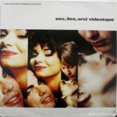 Discos de vinilo: SEXO, MENTIRAS Y CINTAS DE VIDEO. CLIFF MARTINEZ. Lote 160873182