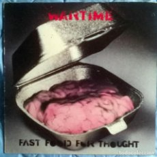 Discos de vinilo: WARTIME. FAST FOOD FOR THOUGHT. CHRYSALIS, UK 1990 MINI-LP 12'' (CHM 1753). Lote 160921442