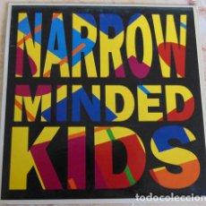 Discos de vinilo: LOS VALENDAS – NARROW MINDED KIDS - SINGLE. Lote 160923770