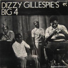 Discos de vinilo: DIZZY GILLESPIE'S BIG 4. JOE PASS, MICKEY ROKER, RAY BROWN. PABLO 1975. Lote 160925722