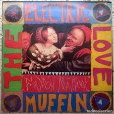Discos de vinilo: ELECTRIC LOVE MUFFIN. PLAYDOH MEATHOOK. BUY OUR RECORDS, USA 1987 LP (BOR-12-012). Lote 160927602
