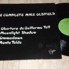 Discos de vinilo: MIKE OLDFIELD THE COMPLETE 12 MAXI PROMO RARÍSIMO EXCLUSIVO RADIOS- VIRGIN ?– VP 020-ESPAÑA-1985-. Lote 160941502