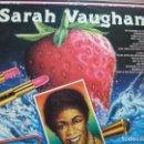 Discos de vinilo: SARAH VAUGHAN ITALY 1986 THE ENTERTAINERS VINILO LP COMO NUEVO. Lote 160942870