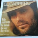 Discos de vinilo: SINGLE EL CABRERO - MALA MADRE ME HA TOCADO - BELTER SPAIN 1975 VG+. Lote 160946198
