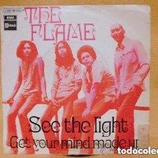 Discos de vinilo: THE FLAME - SEE THE LIGHT (SG) 1970 PROMO???. Lote 160951626