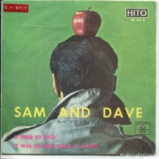 Discos de vinilo: SAM AND DAVE / IT FEELS SO NICE / IT WAS SO NICE .... (SINGLE 1967). Lote 160954638
