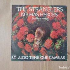 Disques de vinyle: THE STRANGLERS - NO MAS HEROES (NO MORE HEROES)- SG.- ED. ESPAÑOLA- 1978. Lote 160963818