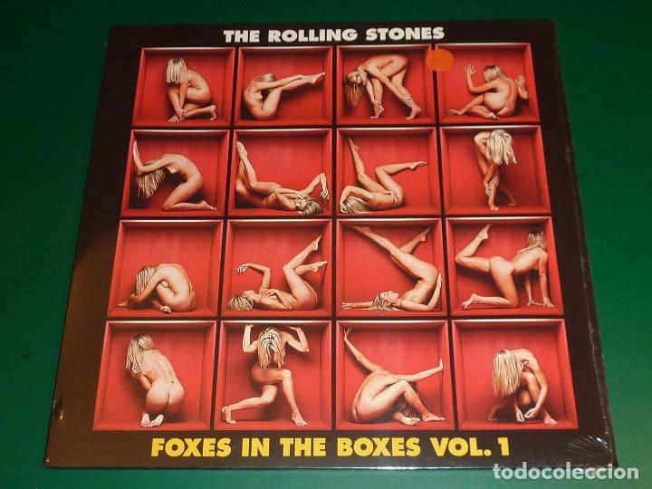 ROLLING STONES FOXES IN THE BOXES VOL.1, 2 Y 3 TRIPLE LP + TRIPLE CD (Música - Discos - LP Vinilo - Pop - Rock Extranjero de los 50 y 60)