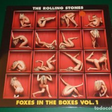 Discos de vinilo: ROLLING STONES FOXES IN THE BOXES VOL.1, 2 Y 3 TRIPLE LP + TRIPLE CD. Lote 194881468