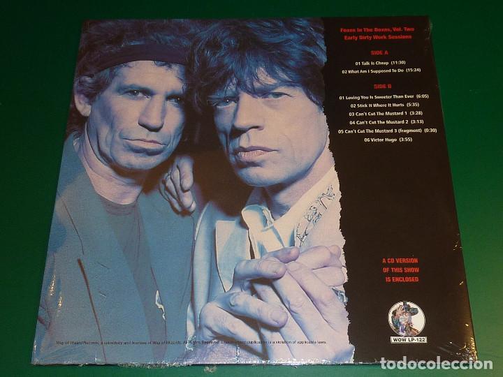 Discos de vinilo: ROLLING STONES FOXES IN THE BOXES VOL.1, 2 Y 3 TRIPLE LP + TRIPLE CD - Foto 6 - 194881468