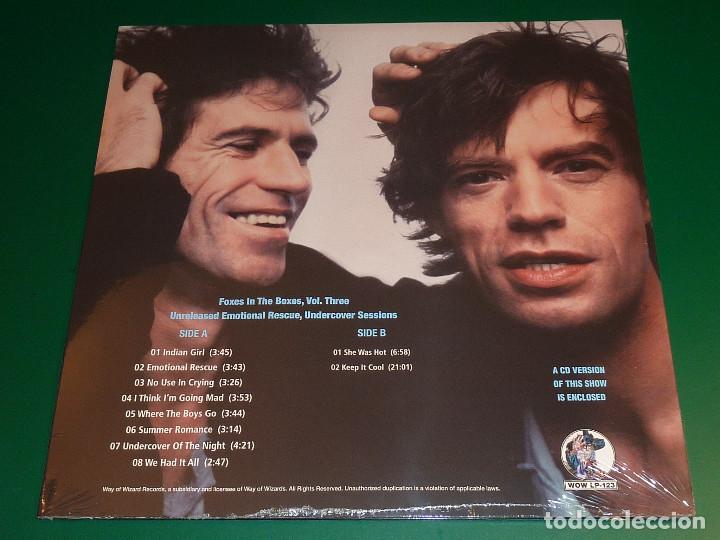 Discos de vinilo: ROLLING STONES FOXES IN THE BOXES VOL.1, 2 Y 3 TRIPLE LP + TRIPLE CD - Foto 9 - 194881468