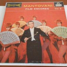Discos de vinilo: MANTOVANI LP FILM ENCORES VOLUMEN 2 EDICION INGLESA. Lote 160982614