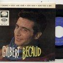 Discos de vinilo: GILBERT BECAUD / LÒRANGE / EP 45 RPM / EDITADO POR LA VOZ DE SU AMO ESPAÑA / NUEVO. Lote 160983558