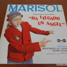 Discos de vinilo: MARISOL CANTA CANCIONES DE LA PELICULA HA LLEGADO UN ANGEL LP EDITADO EN VENEZUELA. Lote 160985566