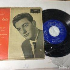 Discos de vinilo: ANTIGUO SINGLE EP ORIGINAL AÑOS 50/60 CANTA JOSÉ LUIS. Lote 160986982