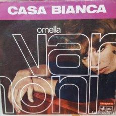 Disques de vinyle: SINGLE / ORNELLA VANONI - CASA BIANCA / ANNA IDENTICI - QUANDO MI INNAMORO /FESTIVAL DE SANREMO 1968. Lote 160988454