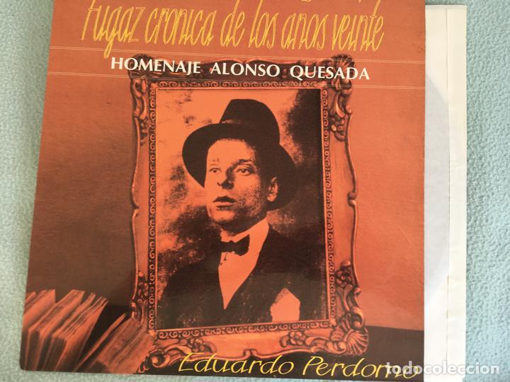 LP EDUARDO PERDOMO- FUGAZ CRONICA AÑOS VEINTE (Música - Discos - LP Vinilo - Country y Folk)