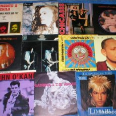 Vinyl records - GRAN LOTE COLECCION 22 DISCOS SINGLES VINILO 1970s 1980s POP ROCK INTERNACIONAL OFERTA MIRA LISTA !! - 160996750
