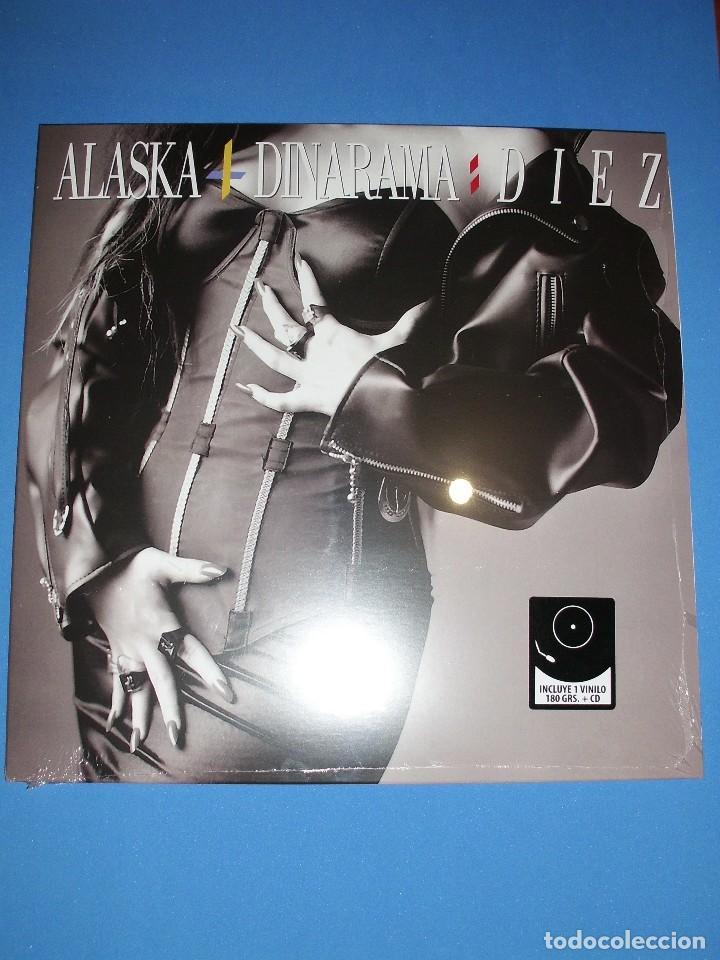 ALASKA Y DINARAMA - DIEZ LP VINILO + CD ENVIÓ CERTIFICADO A ESPAÑA GRATIS ( NUEVO Y PRECINTADO) (Música - Discos de Vinilo - EPs - Grupos Españoles de los 90 a la actualidad)