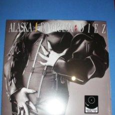 Discos de vinilo: ALASKA Y DINARAMA - DIEZ LP VINILO + CD ENVIÓ CERTIFICADO A ESPAÑA GRATIS ( NUEVO Y PRECINTADO). Lote 178977255
