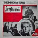 Discos de vinilo: JERRY LEE LEWIS LP GOOD ROCKING TONITE CFE 1985. Lote 160998154