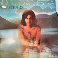Discos de vinilo: LP BIDDU ORCHESTRA-VERANO DEL 42. Lote 161000734