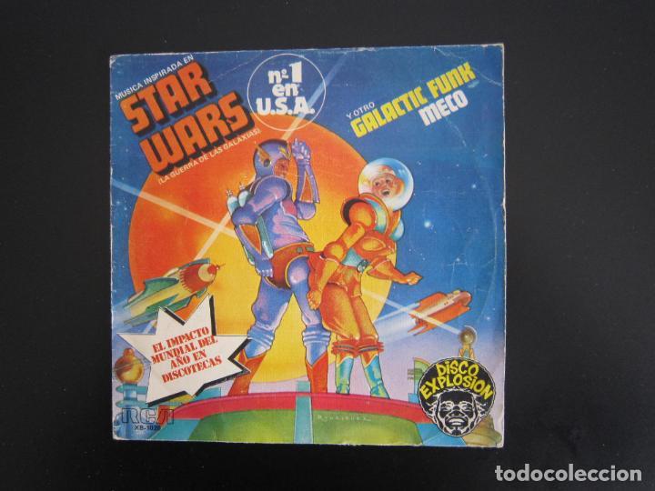 EP - DISCO DANCE - STAR WARS (LA GUERRA DE LAS GALAXIAS) - 1977 - EDICIÓN ESPAÑOLA ORIGINAL (Música - Discos de Vinilo - EPs - Disco y Dance)
