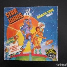 Discos de vinilo: EP - DISCO DANCE - STAR WARS (LA GUERRA DE LAS GALAXIAS) - 1977 - EDICIÓN ESPAÑOLA ORIGINAL. Lote 161001338