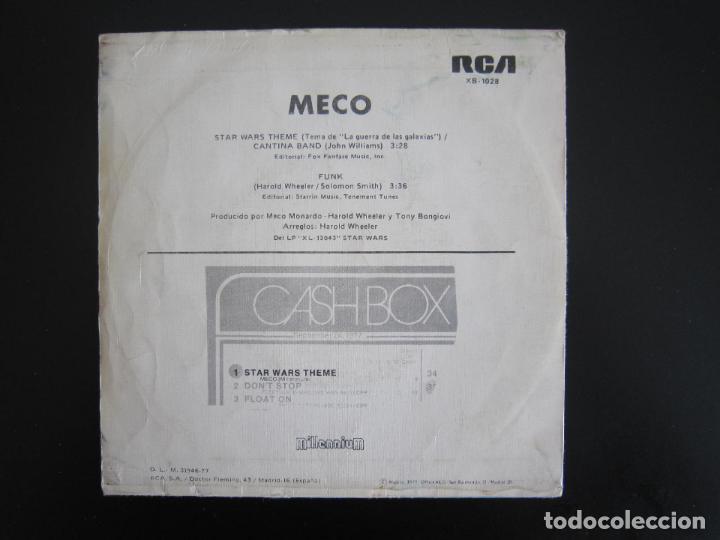 Discos de vinilo: EP - DISCO DANCE - STAR WARS (LA GUERRA DE LAS GALAXIAS) - 1977 - EDICIÓN ESPAÑOLA ORIGINAL - Foto 2 - 161001338