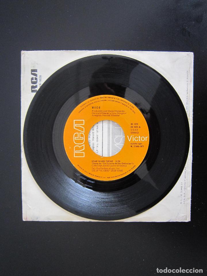 Discos de vinilo: EP - DISCO DANCE - STAR WARS (LA GUERRA DE LAS GALAXIAS) - 1977 - EDICIÓN ESPAÑOLA ORIGINAL - Foto 3 - 161001338