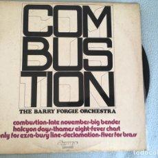 Discos de vinilo: LP THE BARRY FORGIE ORCHESTRA-COMBUSTION. Lote 161002302