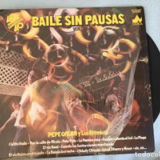 Discos de vinilo: LP PEPE GALAN-BAILE SIN PAUSAS VOL. 2. Lote 161002702