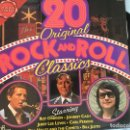 Discos de vinilo: LP 20 ORIGINAL ROCK AND ROLL CLASSICS. Lote 161004266