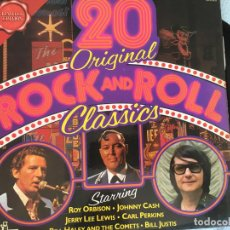 Discos de vinilo: LP 20 ORIGINAL ROCK AND ROLL CLASSICS. Lote 161004266