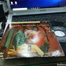 Discos de vinilo: ROBERT MITCHUM EP CALYPSO IS LIKE SO! PART 2 ESPAÑA. Lote 161006966