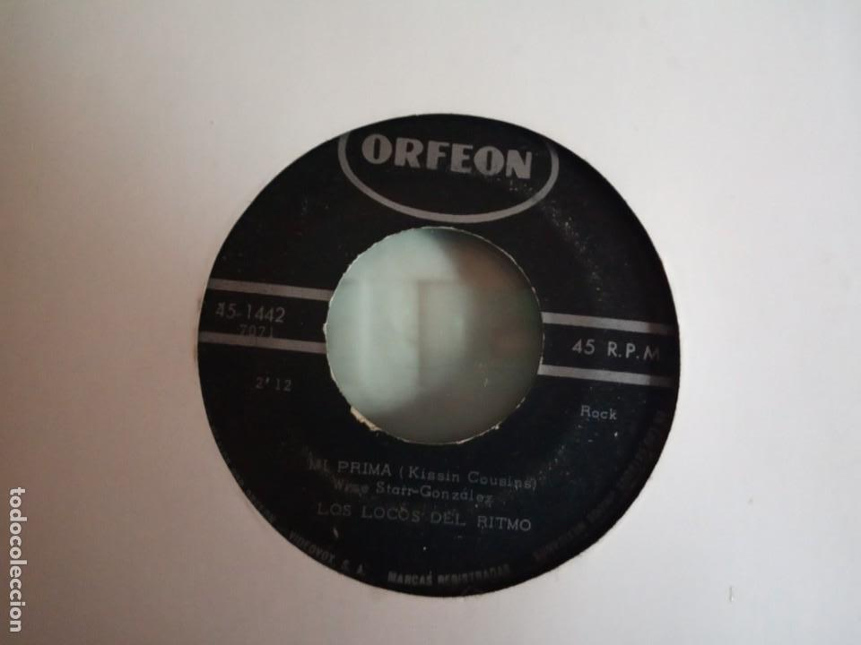 LOCOS DEL RITMO MI PRIMA / SABOR A NADA R'N'R ELVIS KISSIN COUSINS ORIGINAL MEXICO 196? RARO VG/VG- (Música - Discos - Singles Vinilo - Rock & Roll)