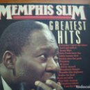 Discos de vinilo: MEMPHIS SLIM GREATEST HITS VINILO LP SIN FECHA AÑOS 70 APROX MUSIC DISTRIBUTOR HOLLAND COMO NUEVO . Lote 161013714