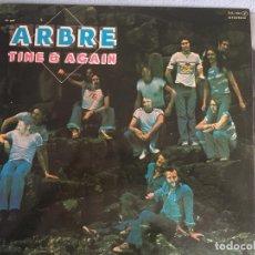 Discos de vinilo: LP ARBRE-TIME AND AGAIN. Lote 161014302