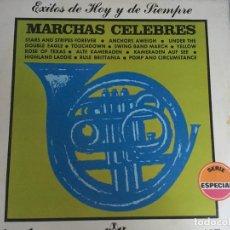 Discos de vinilo: LP MARCHAS CELEBRES-EXITOS DE HOY Y DE SIEMPRE. Lote 161016558