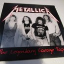 Discos de vinilo: METALLICA THE LEGENDARY GARAGE TAPES LP. Lote 161017302
