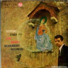 Discos de vinilo: SERGIO ENDRIGO / AVE MARIA (SCHUBERT) / AVE MARIA (GOUND) EP ESPAÑOL 1963. Lote 161032654