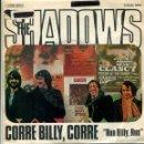 Discos de vinilo: THE SHADOWS / CORRE BILLY, CORRE / HONORABLE PUFF-PUFF (SINGLE PROMO 1975). Lote 161032990