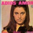 Discos de vinilo: SHEILA / ADIOS AMOR / LA PORTE EN BOIS / EL DIA MAS HERMOSO DEL VERANO + 1 (EP 1967). Lote 161033434