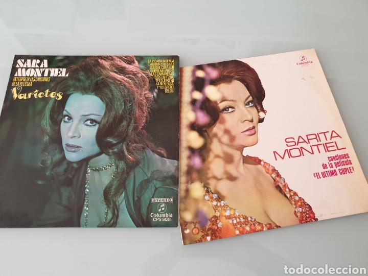 LP. SARA SARITA MONTIEL. CANCIONES DE PELICULAS: VARIETES , EL ÚLTIMO CUPLÉ. (Música - Discos - LP Vinilo - Flamenco, Canción española y Cuplé)