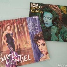 Discos de vinilo - LP. Sara Montiel. Varietes. Sarita Montiel. Besos de fuego. - 161069865