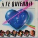 Discos de vinilo: LP. TE QUIERO, LAS MAS HERMOSAS CANCIONES DE AMOR. Lote 161073106