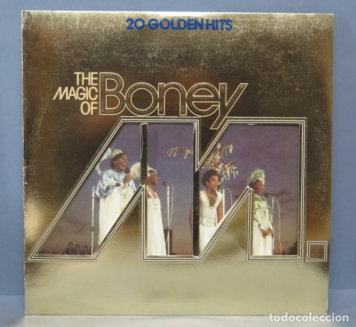 LP. 20 GOLDENHITS. THE MAGIC OF BONEY M (Música - Discos - LP Vinilo - Pop - Rock - Extranjero de los 70)