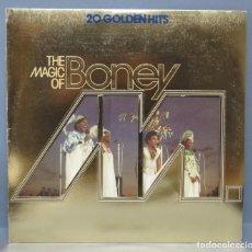 Discos de vinilo: LP. 20 GOLDENHITS. THE MAGIC OF BONEY M. Lote 161073478