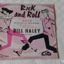 Discos de vinilo: EP DEL CANTANTE NORTEAMERICANO DE ROCK AND ROLL, BILL HALEY ( AND HIS COMETS ). Lote 161075214